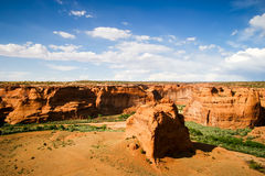 Hammada-Tal-Szene Arizonas rote Lizenzfreies Stockfoto