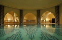 hammam inom traditionella morocco Arkivbilder