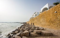 Hammamet in Tunesië Royalty-vrije Stock Afbeelding