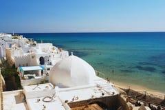 Hammamet Tunisien Arkivbild