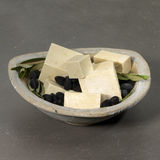 Hamman scenery : olive soap with black olives Stock Photography