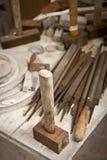 hammaren shoppar hjälpmedelarbete Royaltyfri Fotografi