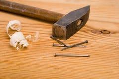 hammaretappning Royaltyfria Foton