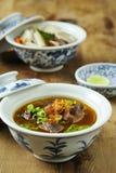 Hammelfleischsuppe oder kambing Suppe Lizenzfreies Stockbild