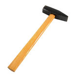 Hammer. Work tool - hammer isolated on the white Royalty Free Stock Image