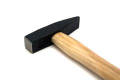 Hammer. A hammer isolated on a white background Stock Photos