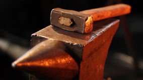 Hammer And Anvil. Royalty Free Stock Photos
