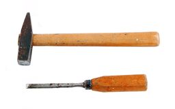 Hammer And Chisel Stock Images