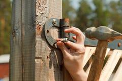 Hammer And Nail Royalty Free Stock Photography
