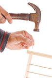Hammer And Nail Stock Images