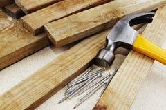 Free Hammer And Nails Stock Photos - 38302963