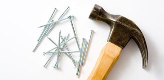 Free Hammer And Nails Royalty Free Stock Photo - 5114875