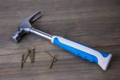 Free Hammer And Nails Stock Photo - 86564040