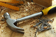 Free Hammer And Neils Stock Photos - 79597013