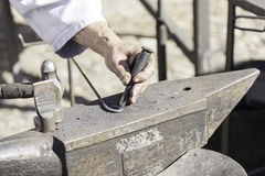 Hammer and anvil to forge Royalty Free Stock Photography