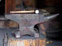 Hammer And Anvil Stock Images