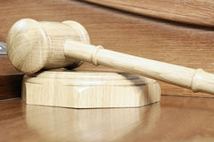 Hammer of the auctioneer. Royalty Free Stock Image