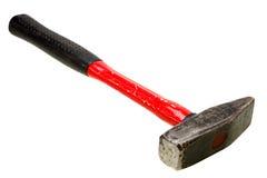 Hammer auf Weiß Stockfotos