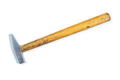 Hammer auf weißem Hintergrund Lizenzfreie Stockbilder