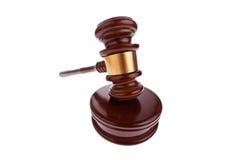 Hammer. Auktionhammer bei Gericht. Stockfotografie
