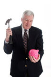 Hammer and Bank Stock Images