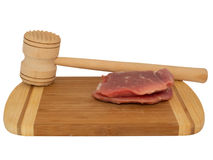 Hammer for beating the meat Royalty Free Stock Photography