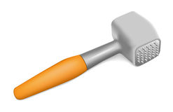Hammer for beating the meat Royalty Free Stock Photos