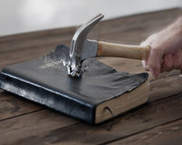 Hammer and Bible Stock Photos