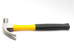 Hammer black and yellow isolate Royalty Free Stock Photo