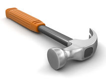 Hammer (clipping path included) Royalty Free Stock Photos