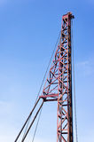 Hammer crane Royalty Free Stock Photography
