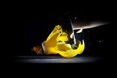 Hammer crush bulb Stock Images