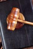 Hammer des Gesetzes Stockfotos