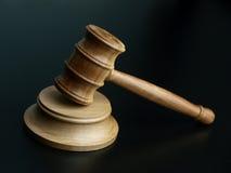 Hammer des Richters lizenzfreie stockfotos