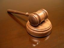 Hammer des Richters Lizenzfreies Stockfoto