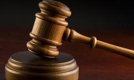 Hammer des Richters Lizenzfreie Stockbilder