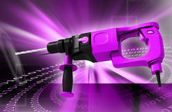 Hammer drill Stock Photos