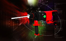 Hammer drill Stock Photography