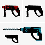 Hammer drill Royalty Free Stock Photo