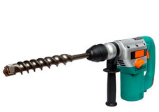 Hammer drill. Close up Royalty Free Stock Photos