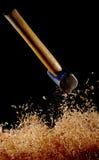 Hammer drop Stock Image