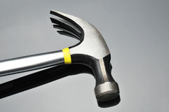 Hammer on Gray Royalty Free Stock Image