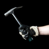 Hammer in hand. Stock Image