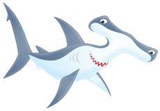 Hammer-headed shark Royalty Free Stock Photos