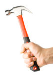 Hammer In The Hand Royalty Free Stock Image