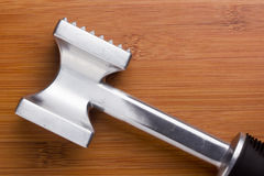 Hammer for meat Royalty Free Stock Photos