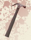 Hammer murder weapon Royalty Free Stock Image