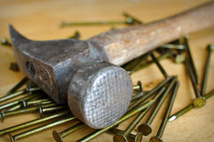 Hammer and Nails Stock Photos