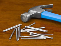Hammer and Nails Stock Images