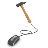 Hammer online Royalty Free Stock Photos